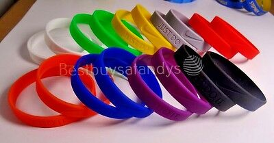 Nike JUST DO IT. Sports Silicone Wristband Baller Bands Bracelets Swoosh 3D Logo