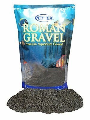 Pettex Roman Gravel Aquatic Roman Gravel, 2 Kg, Jet Black