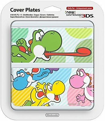 * NEW Official YOSHI replacement Cover Plates for *New* Nintendo 3DS Console