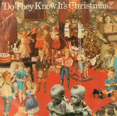 """Band Aid(7"""" Vinyl P/S)Do They Know It's Christmas-Mercury-FEED 1-UK-198-VG/Ex"""