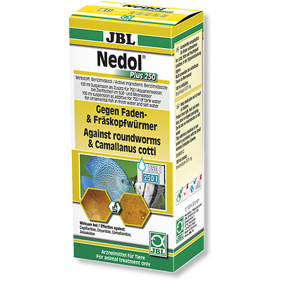 JBL Nedol Plus 250 100ml - (Remedy Against Roundworms And Camallanus) @ BARGAIN