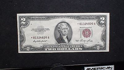 1953 Two Dollar United States STAR NOTE Fr # 1509 $2 Bill Starts At 99 Cents!