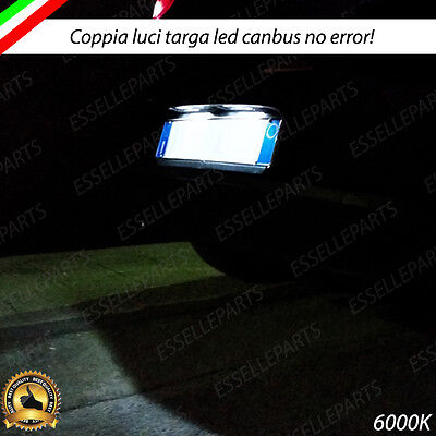 Luci Targa T10 5 Led Swift Mk5 Canbus Bianco 100% No Error 6000K