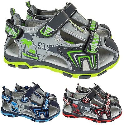 Kids Boys Infant Summer Sandals Walking Sports Hiking Trail Beach Shoes Size 2-3