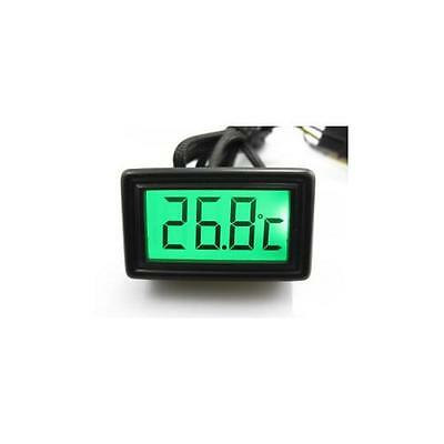 XSPC LCD Temperature Sensor (Green) V2 - Water Cooling Component