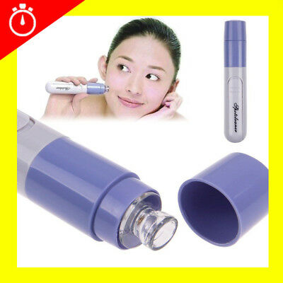 Electric Blackhead Whitehead Pimple Acne Blemish Extractor Remover Tool Kit UK