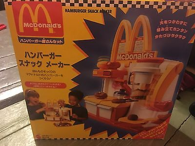 MCDONALD'S HAMBURGER MAKER Happy Meal Magic �� JAPANESE VERSION 1994 RARE