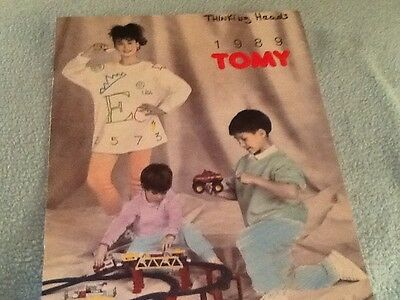 1989 Tomy Toy Fair Toy Catalogs