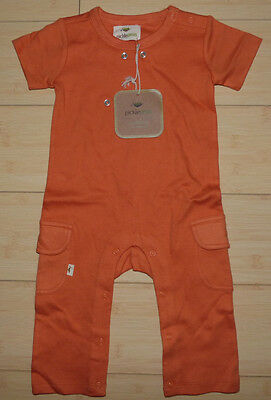 NEW PicklePeas Baby,infant Onesie pajamas 6-12 months, Organic Cotton, unisex