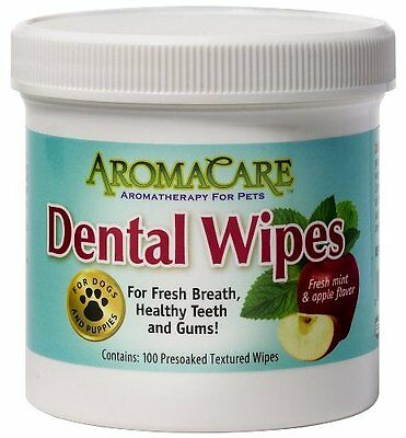 Aromacare 100 Dental Wipes