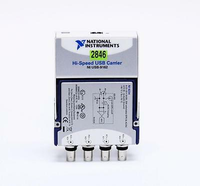 National Instruments Hi-Speed USB Carrier NI USB-9162 & NI 9234 (2846)