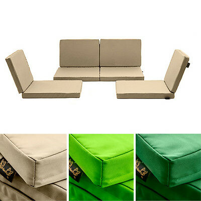 Water Resistant Replacement Cushions for 8pc Rattan Garden Outdoor Furniture Set