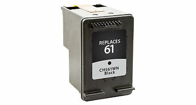 Remanufactured Black Ink cartridge HP 61 CH561WN
