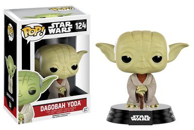 Funko Pop Star Wars Dagobah Yoda Vinyl Bobble Head Action Figure Collectible Toy