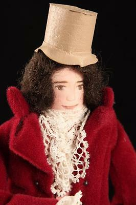 "8"" Literary Character Cloth Doll David Copperfield English Artist Edith Russell"