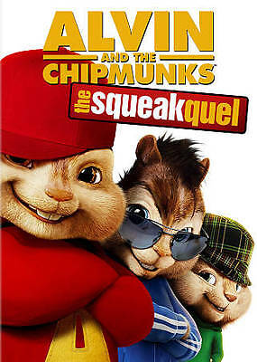 ALVIN AND THE CHIPMUNKS: THE SQUEAKQUEL DVD Jason Lee David Cross 2