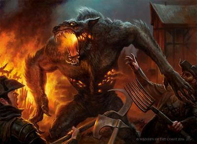 50 Werewolf Cards with 3 rares lot collection MTG Magic the gathering  CNY