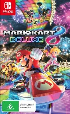 Mario Kart 8 Deluxe Nintendo Switch Brand New!