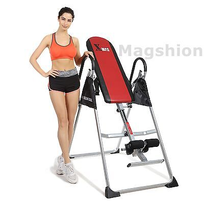 X-MAG Inversion Table Back Neck Therapy Pain Exercise Reflexology Chiropractic