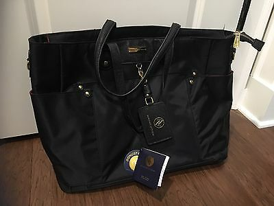 Adrienne Vittadini Travel Tote Bag Laptop Sleeve Retails $198 New With Tags!