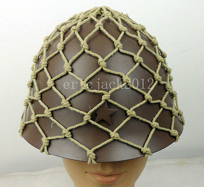 WWII Japanese Army Helmet Net Cover-D917
