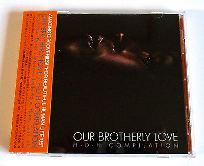 H-D-H COMPILATION Our Brotherly Love JAPAN PROMO CD w/OBI 1995 HOLLAND DOZIER