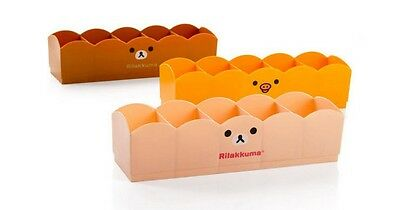 San-X Rilakkuma Relax Bear 5 Drawer Plastic Storage Box Socks Pants Organizer