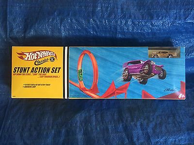 Stunt Action Set by Hot Wheels Classics - Sealed Never Opened (Rare)