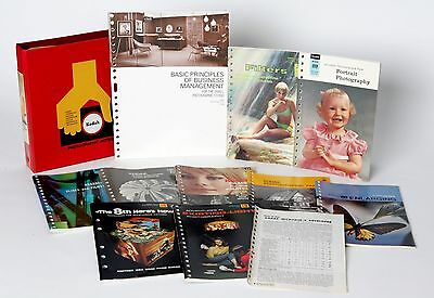 Vintage Kodak Photographic Books Collection