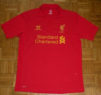"Liverpool 2012/2013 Warrior Football Home Shirt ""L"" Jersey Trikot"