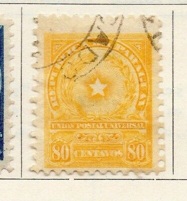 Paraguay 1913 Early Issue Fine Used 80c. 147503