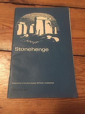 Vintage Stonehenge Official Guidebook And Map Illustrations Perfect For Framing