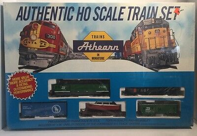 RARE Athearn HO scale Burlington Northern Freight Train Set #1013 Sealed