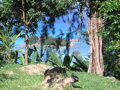 land with planning 3 bed house sea view seychelles