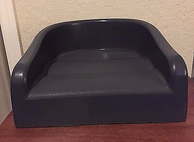 Prince Lionheart Soft Booster Seat, Charcoal Gray, Unisex, 2 Years EUC