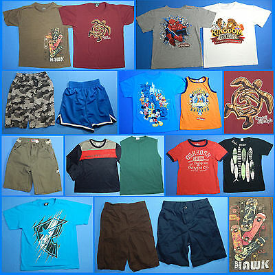 16 Piece Lot of Nice Clean Boys Size 7 Spring Summer Everyday Clothes ss153