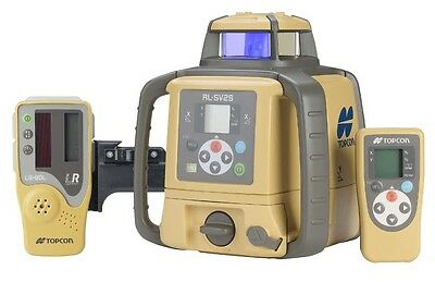 NEW! Topcon RLSV2S Dual Grade Automatic Construction Rotary Laser Level Kit