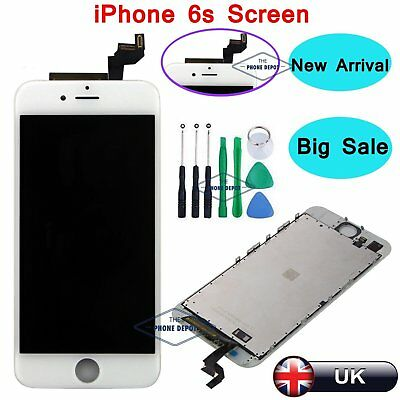 "For IPhone 6S 4.7"" LCD Touch Screen Display Assembly Digitizer White Replacement"