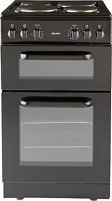 Bush BED50B Free Standing 50cm Double Electric Cooker - Black. From Argos ebay