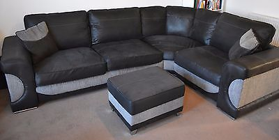 lowest price c0a9b 52624 SOFOLOGY (SOFA WORKS) Halo Lucien Corner Sofa and Swivel Chair