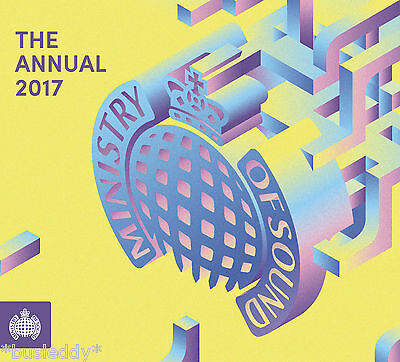 ***Ministry Of Sound THE ANNUAL 2017 Various Artists (2CD) New & Sealed***