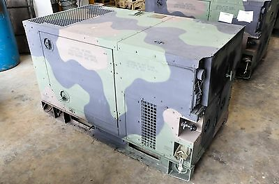 30 Hrs-MEP-803A 10KW 2008 GENERATOR MILITARY DIESEL 120/240 60HZ 1-3 PHASE