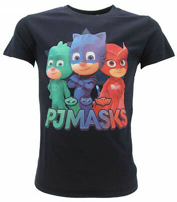 T-shirt PJ Masks Originale Super Pigiamini Blu Navy