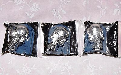 Yeager Poured Silver YPS 2 oz Skull Limited Edition Bar