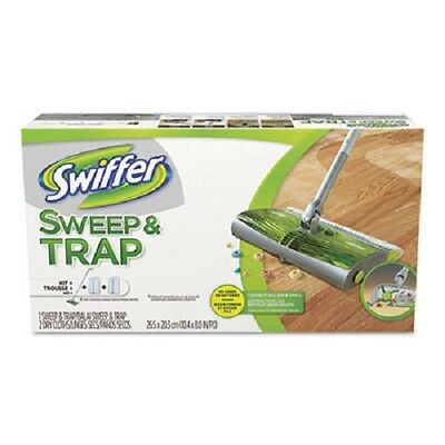NEW Swiffer Sweep & Trap In The Box Starter Kit. Trousse kit, 1 sweep trap,