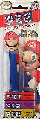 PEZ - Nintendo - Mario - MOC - Mint On Card
