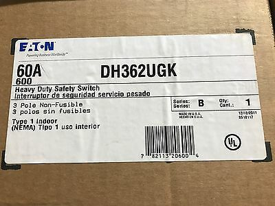 Eaton Cuttler-Hammer DH362UGK Safety Switch ** New In Box, Free Shipping **