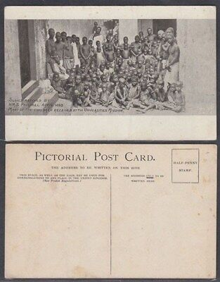 GB 1900's FREED SLAVES PICTURE POSTCARD (ID:281/D44889)