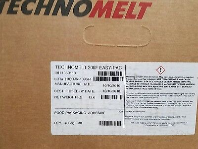 Henkel Hot Melt Adhesive Pellets Technomelt 200F, Bulk Lot 1020 Lbs