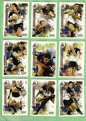 2003  Act Brumbies  Rugby Union Cards